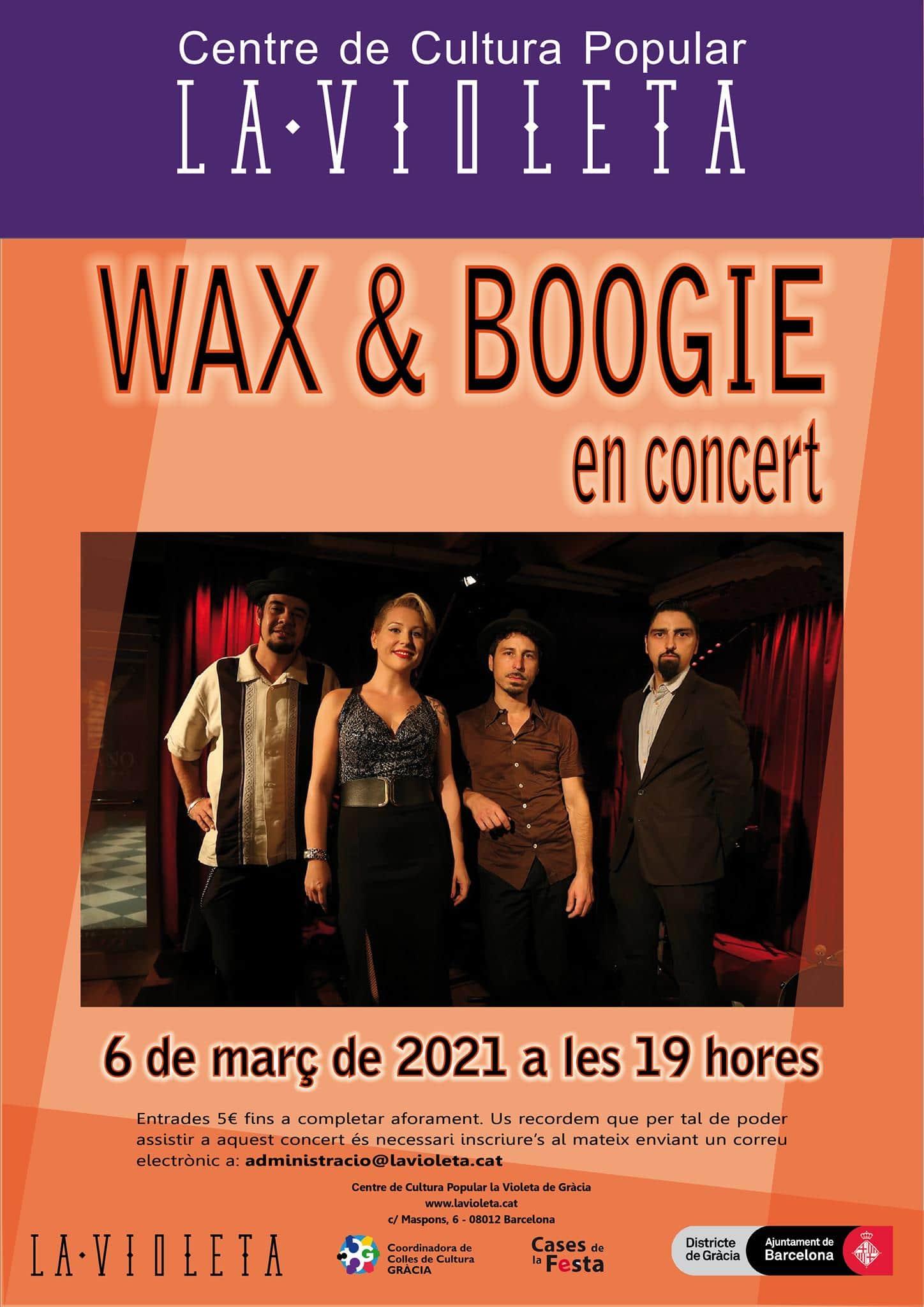 Wax & Boogie La Violeta