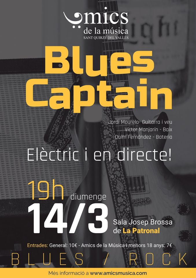 Blues Captain en Concert