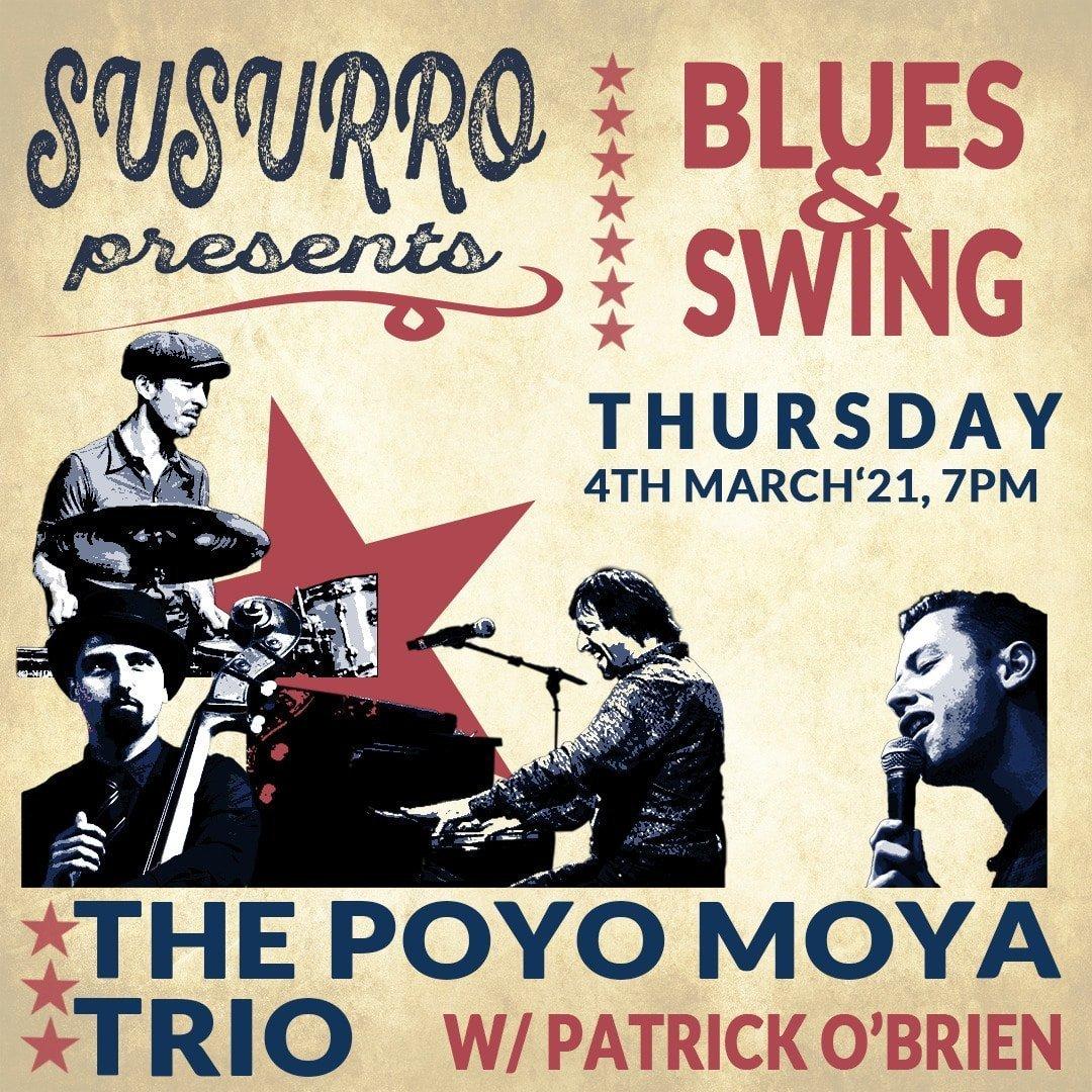 Poyo Moya trio PatOBbrien 04 feb